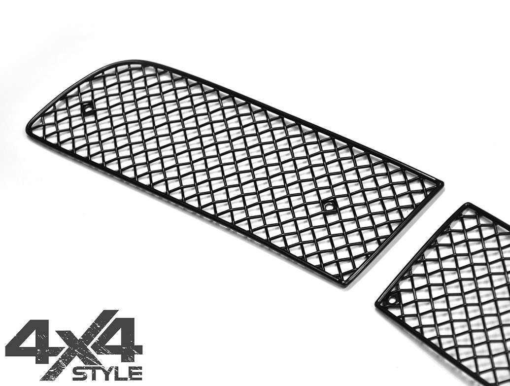 Zunsport Black Nylon Coated Grille Set - RR Sport 06-09