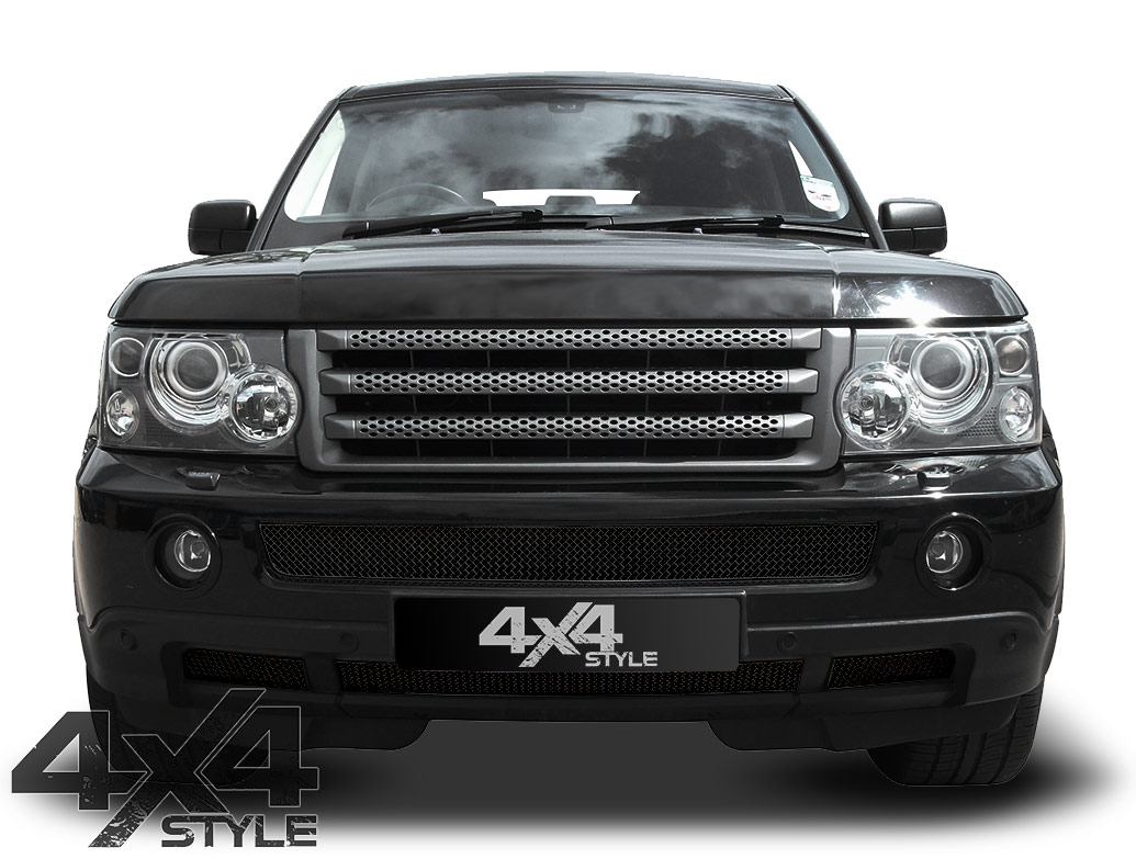 Zunsport Black Nylon Coated Lower Grille - RR Sport 06-09