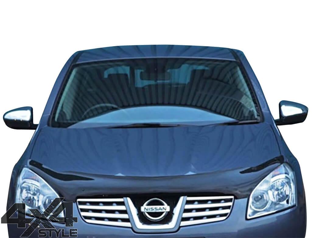 Gloss Black Acrylic Bonnet Deflector - Nissan Qashqai 2007>2010