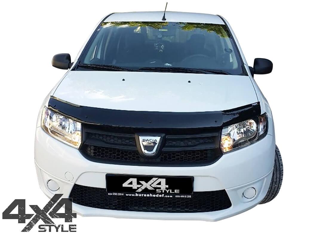Gloss Black Acrylic Bonnet Deflector - Dacia Sandero 2008>2012