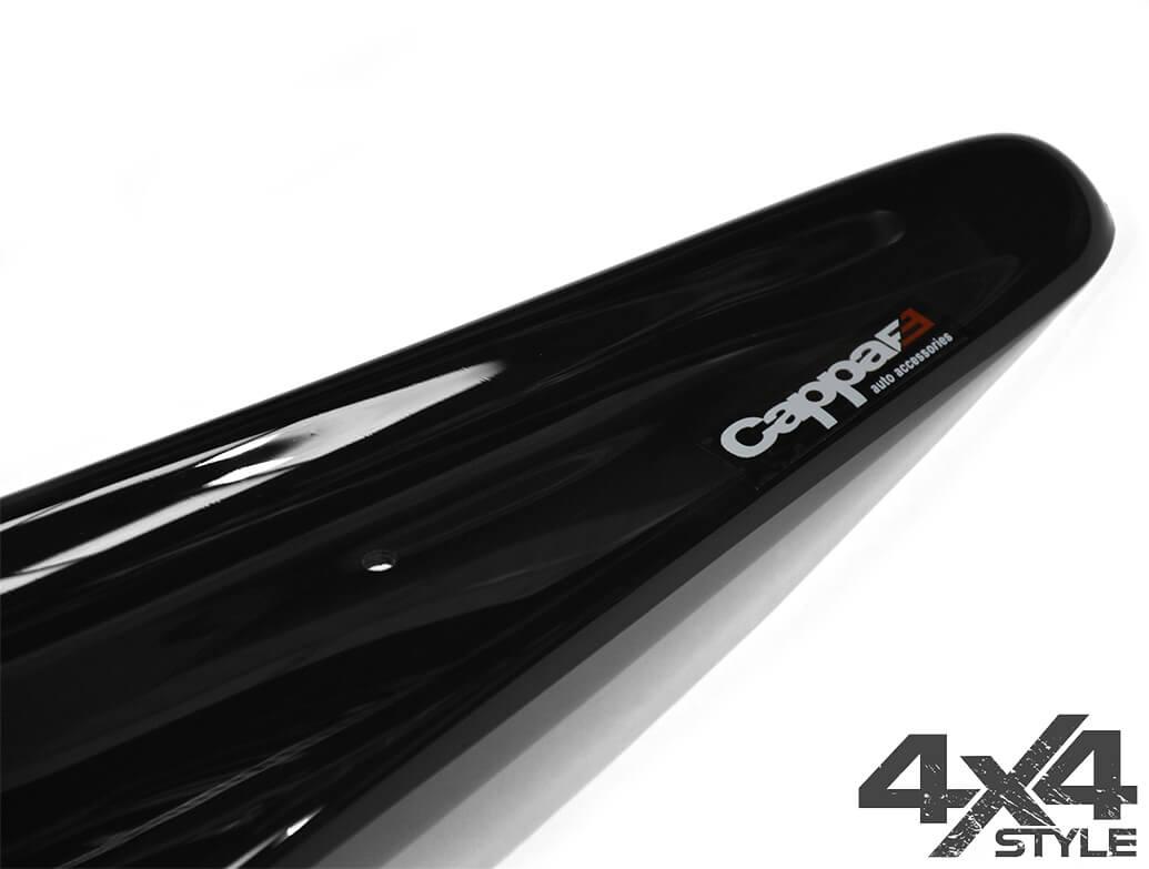 Gloss Black Acrylic Bonnet Deflector - Hyundai IX35 2010>2015