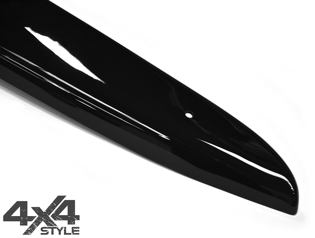 Gloss Black Acrylic Bonnet Deflector - Honda CRV 2013>