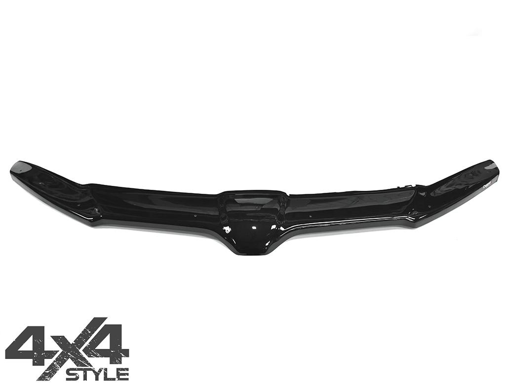 Gloss Black Acrylic Bonnet Deflector - Skoda Octavia 2013>
