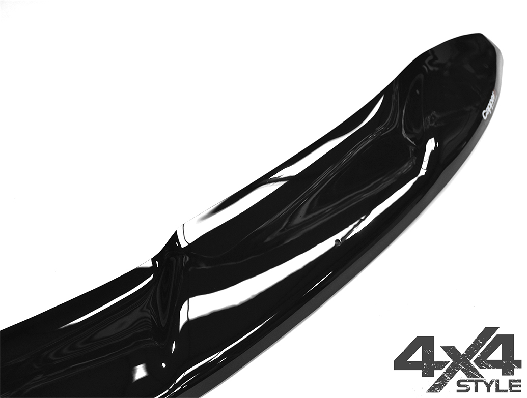 Gloss Black Acrylic Bonnet Deflector - Nissan Qashqai 2014>2017