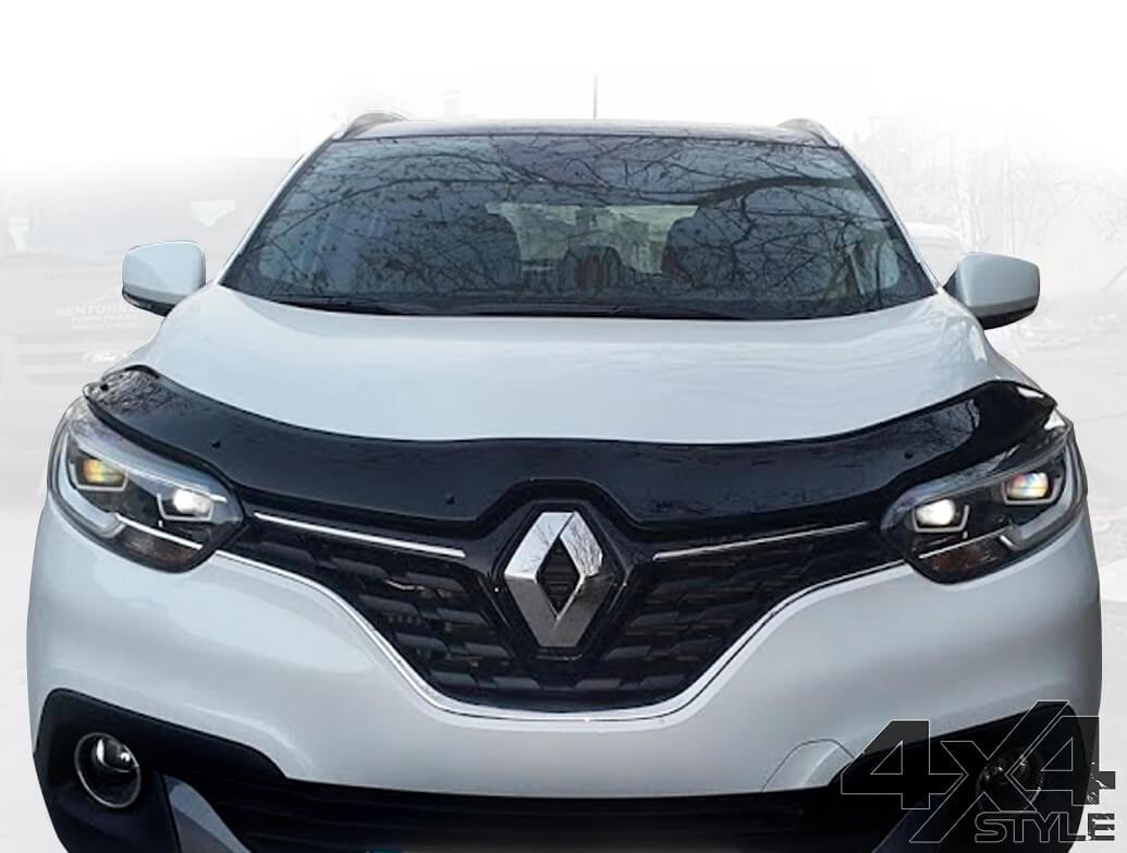 Gloss Black Acrylic Bonnet Deflector - Renault Kadjar 2015>