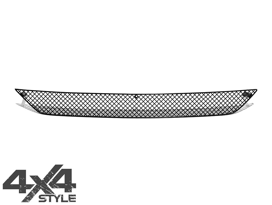 Zunsport Black Nylon Coated Centre Grille - Isuzu D-Max 2017>