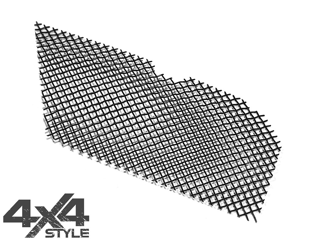 Zunsport Black Nylon Coated Upper Grille - Mitsubishi L200 15>