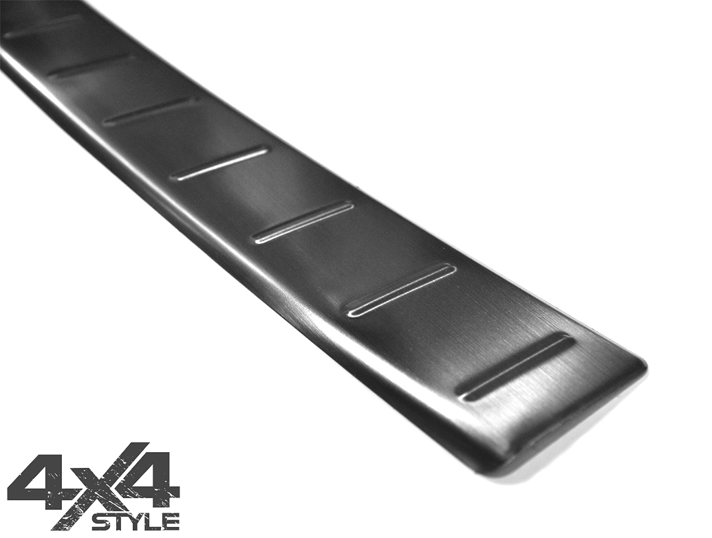 Brushed Rear Bumper Sill Cover - Suzuki Vitara 2015>