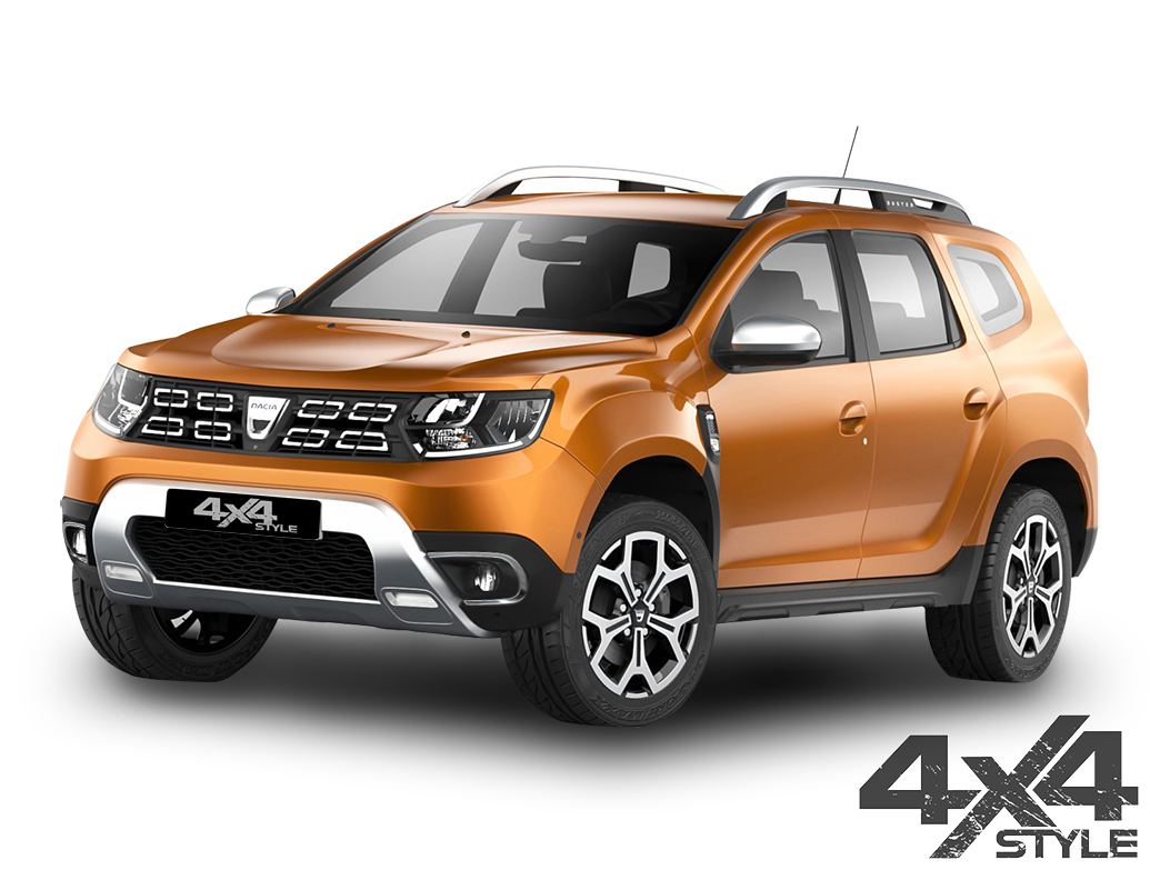 Polished Stainless Steel Fog Light Rims - Dacia Duster 18>