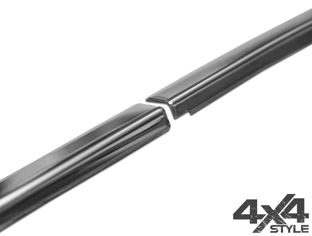 Polished Stainless Steel Window Trim Covers - Dacia Duster 18>