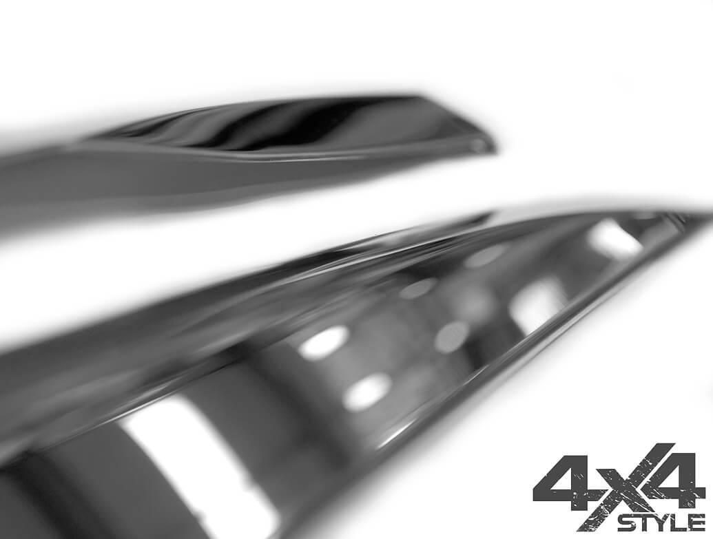 Polished Stainless Steel Side Door Streamers - Peugeot 3008 16>