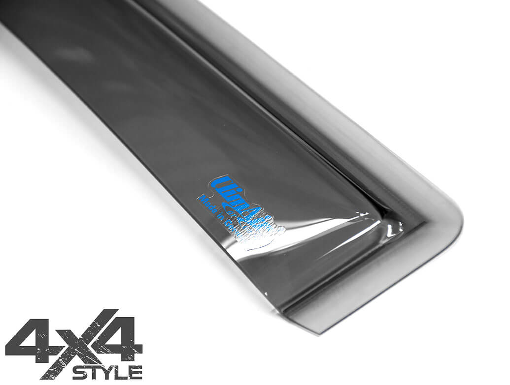 Climair Front Smoked Wind Deflector - Ford Ranger Double Cab 16>
