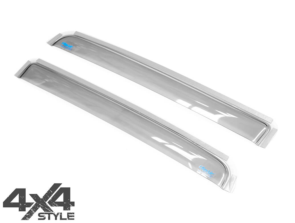 Climair Rear Smoked Wind Deflectors - Isuzu D-Max 2012>