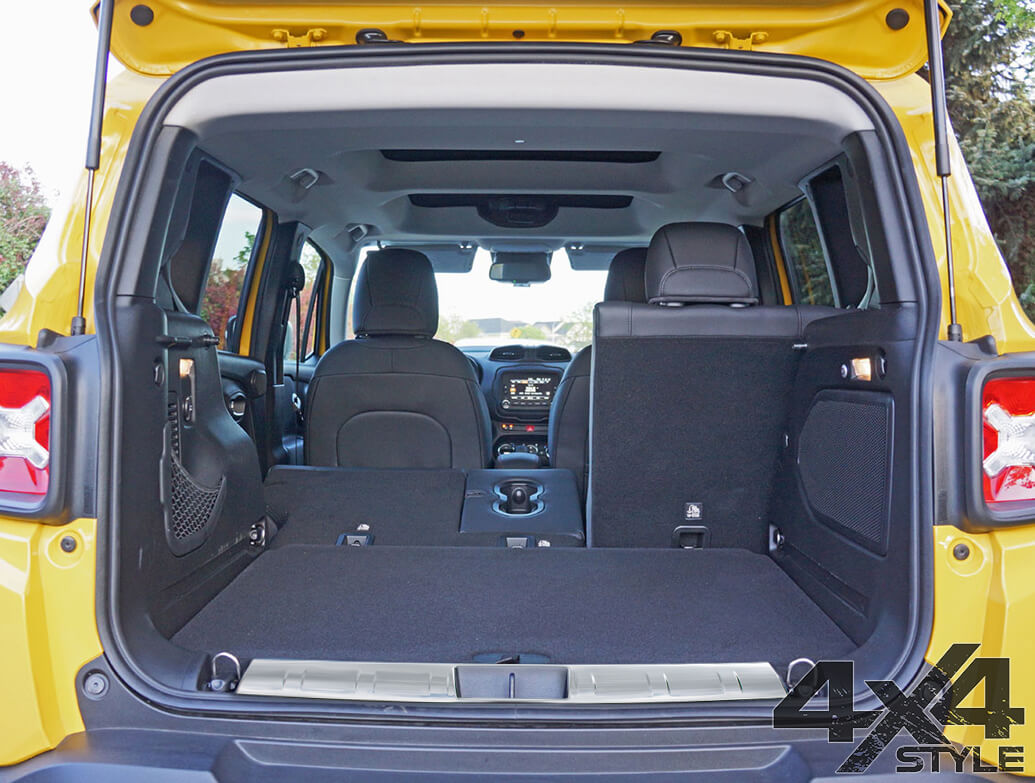 Stainless Steel Rear Trunk Sill Cover - Jeep Renegade 14>