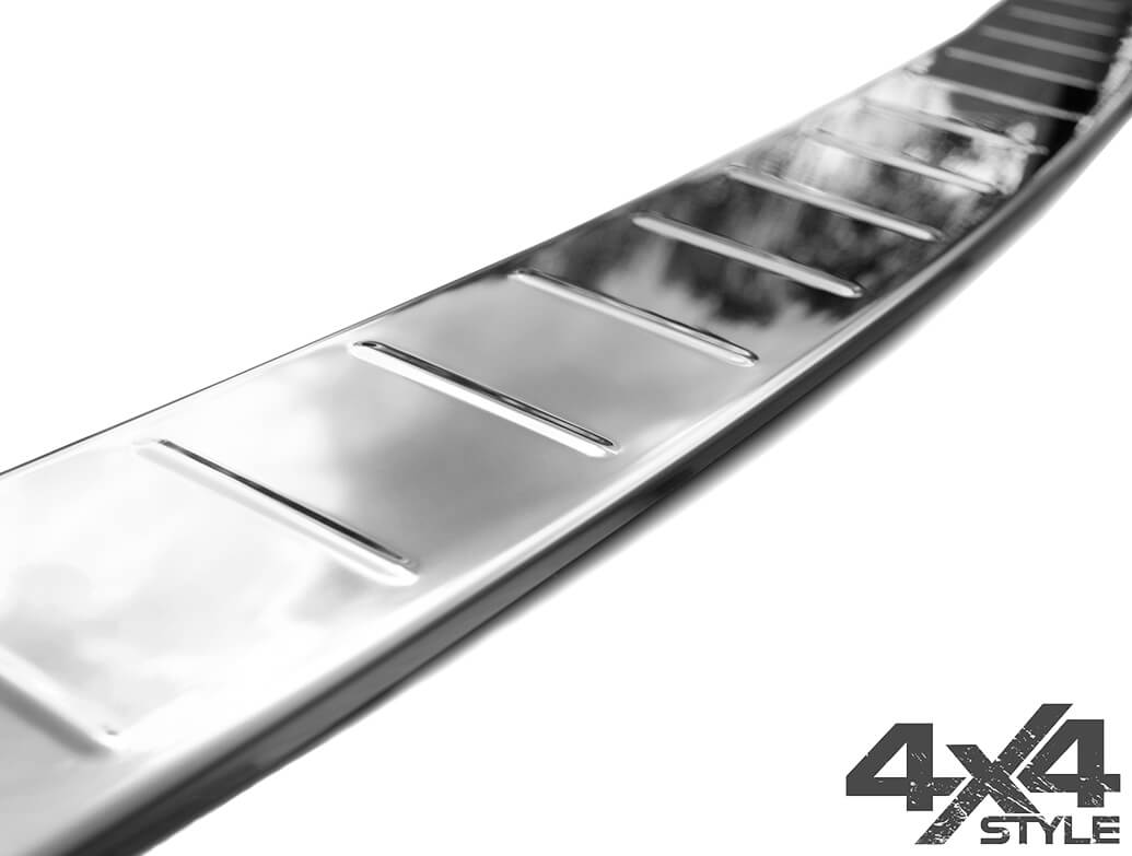 Polished Stainless Steel Rear Bumper Cover - Mercedes Benz GLC