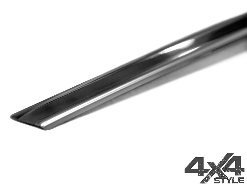 Stainless Steel Rear Grab Handle Trim Line Cover - Arona 2017>