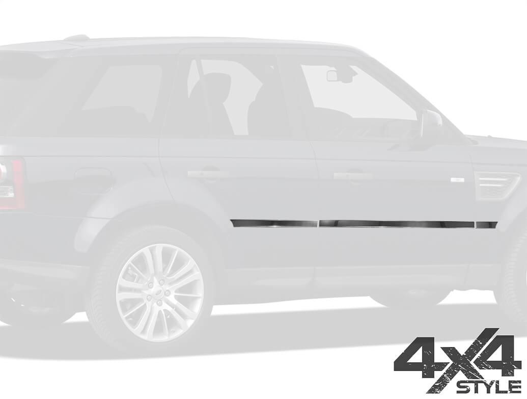 Stainless Steel Side Door Streamers - Range Rover Sport 05>13