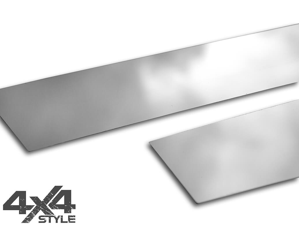 Polished Stainless Steel B-Pillar Covers - Ford Ecosport 17>