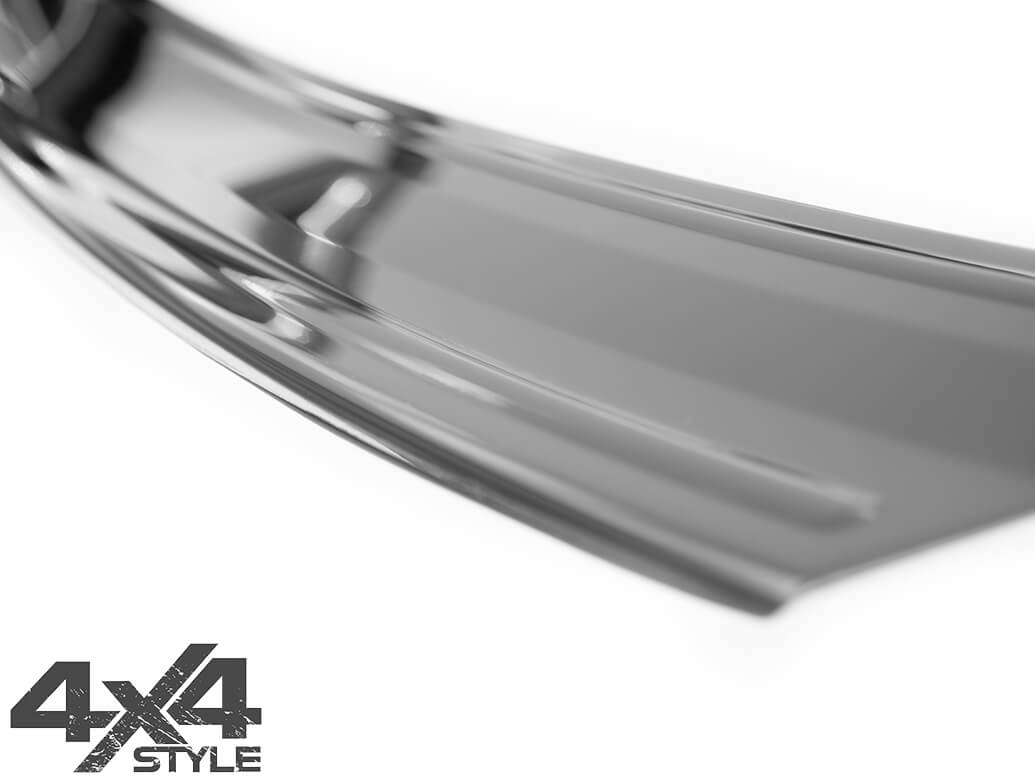 Polished Stainless Steel Rear Bumper Protector - Ford Ecosport