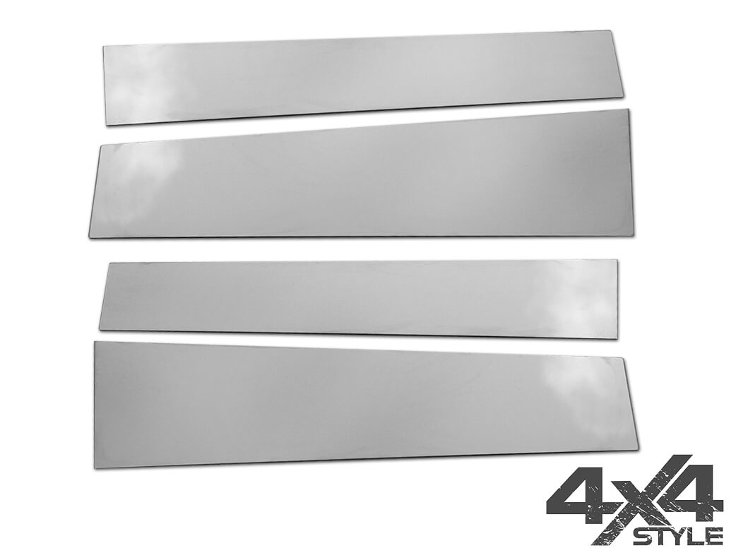 Polished Stainless Steel B-Pillar Covers - Mercedes X-Class 17>