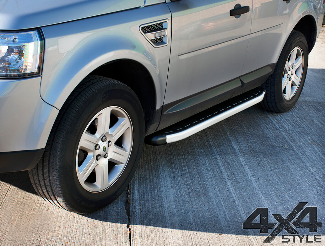 Clumber Style Aluminium Side Step - Land Rover Freelander II