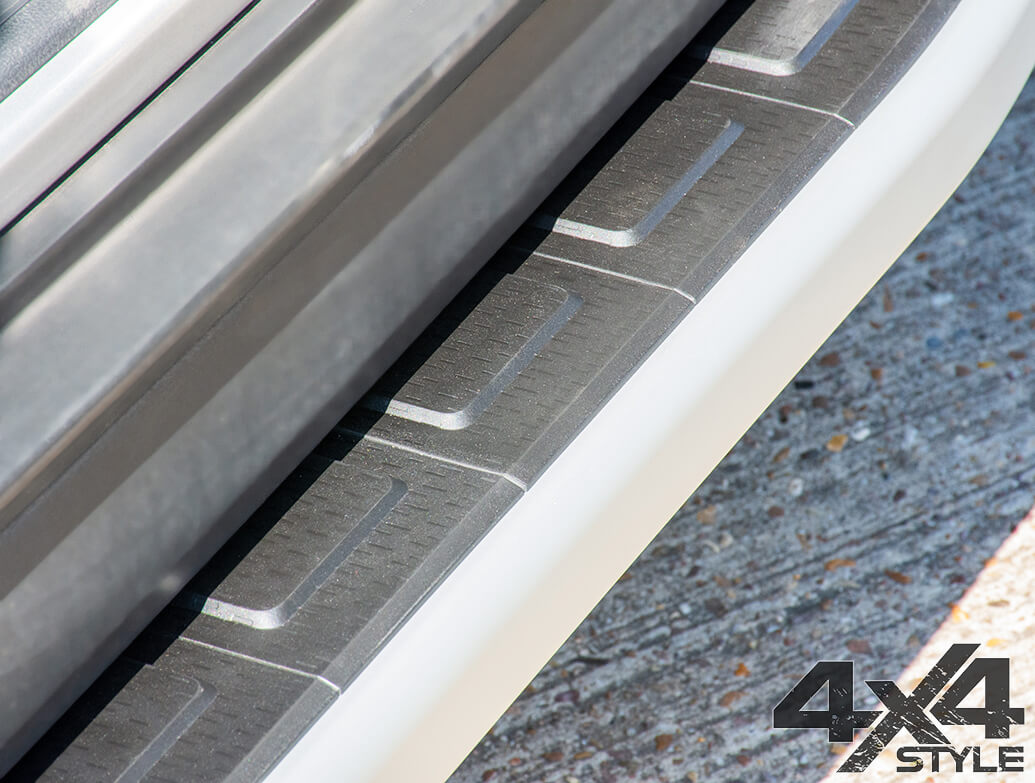 Clumber Style Aluminium Side Step - Hyundai Tucson 2015>