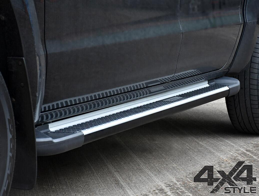 Sherwood Style Aluminium Side Step - VW Amarok 2010>