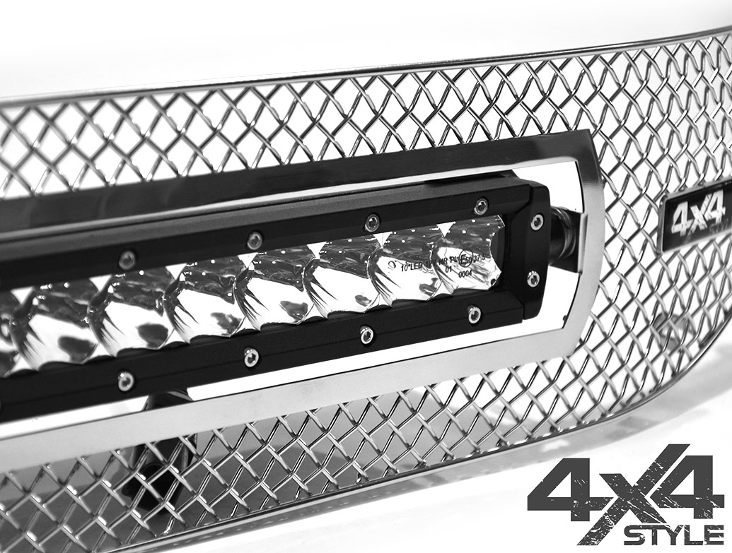 Zunsport Polished Chrome Grille + 10in Wilderness - Amarok 10-16