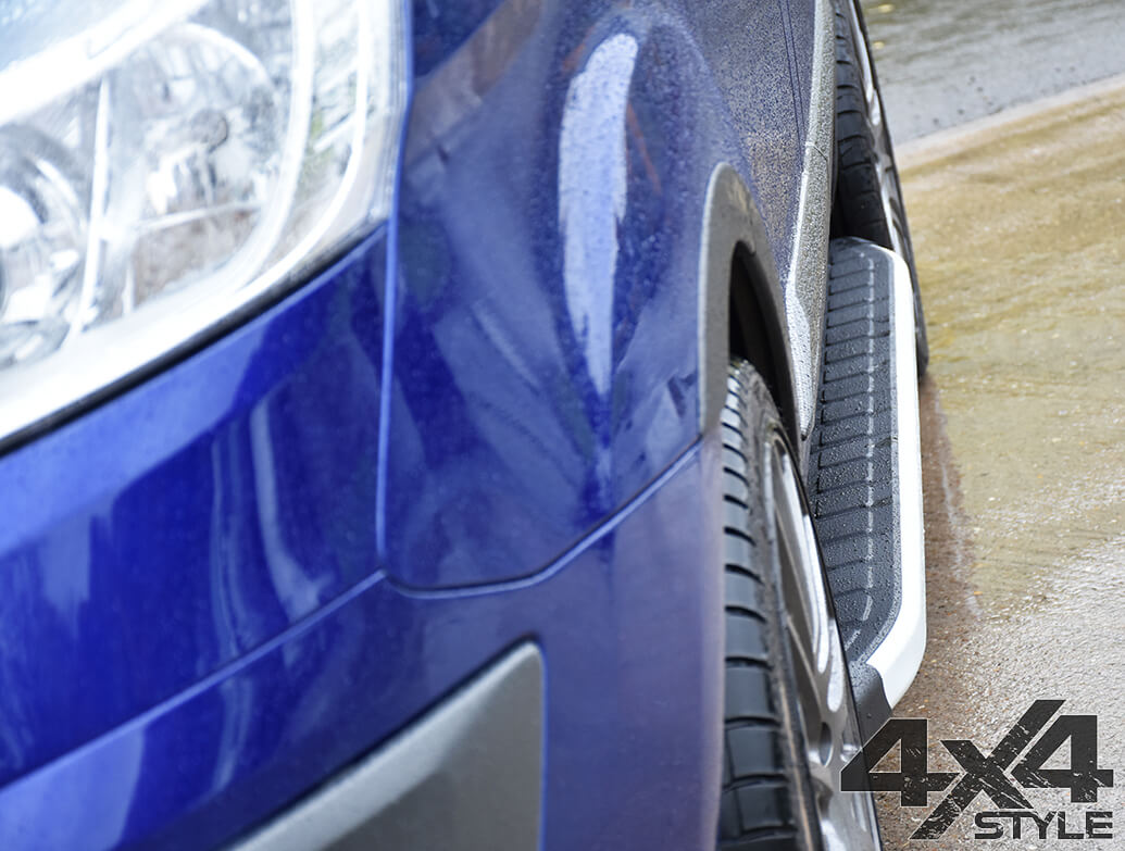 Clumber Style Aluminium Side Steps - Nissan X-Trail 2014>