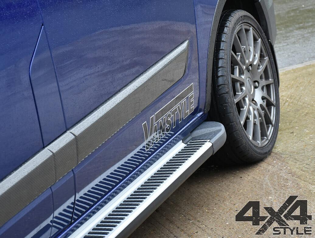 Sherwood Style Aluminium Side Step - Nissan X-Trail 2014>