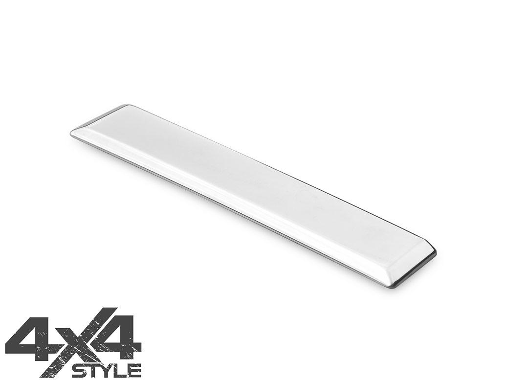 Polished S.Steel Tailgate Handle Cover - Nissan Navara 06-15
