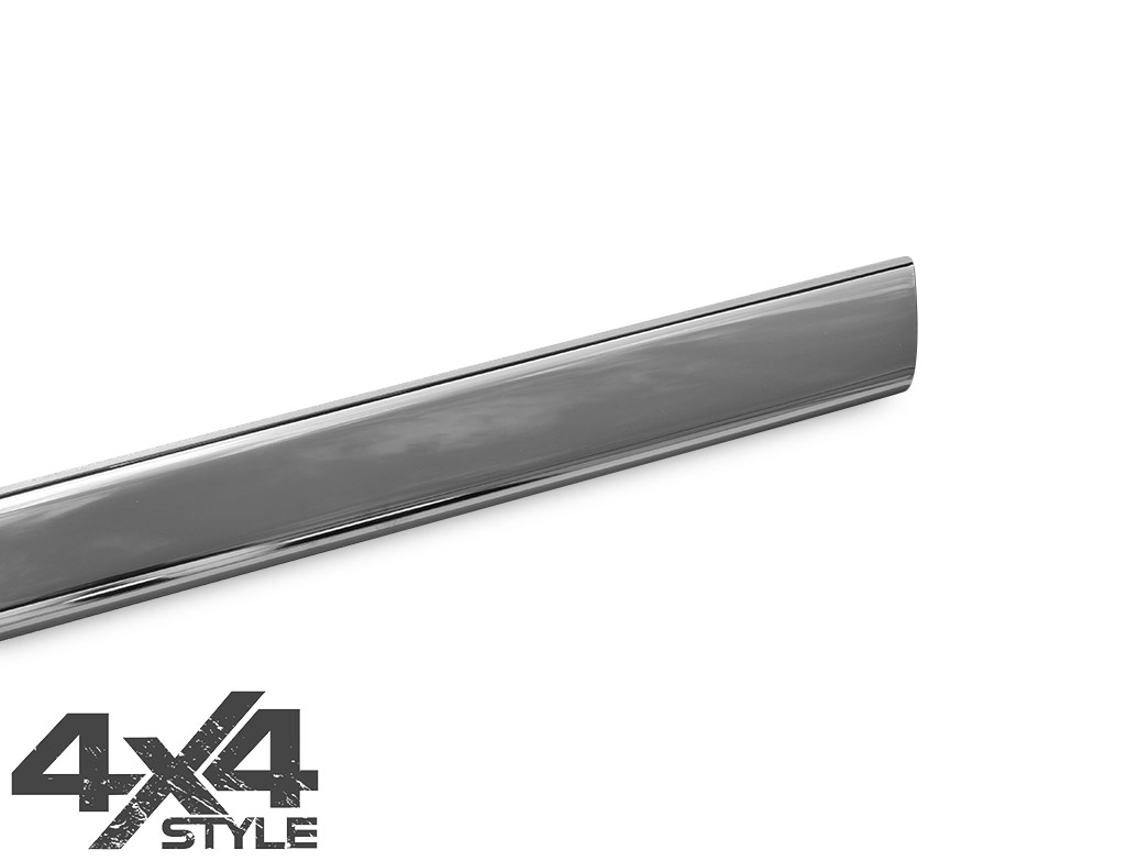 Polished S.Steel Front Bumper Trim - Nissan Navara D40 05-15