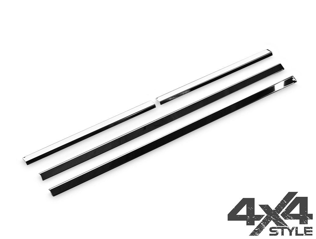 Polished Stainless Steel Window Trim - Nissan Navara 05>15