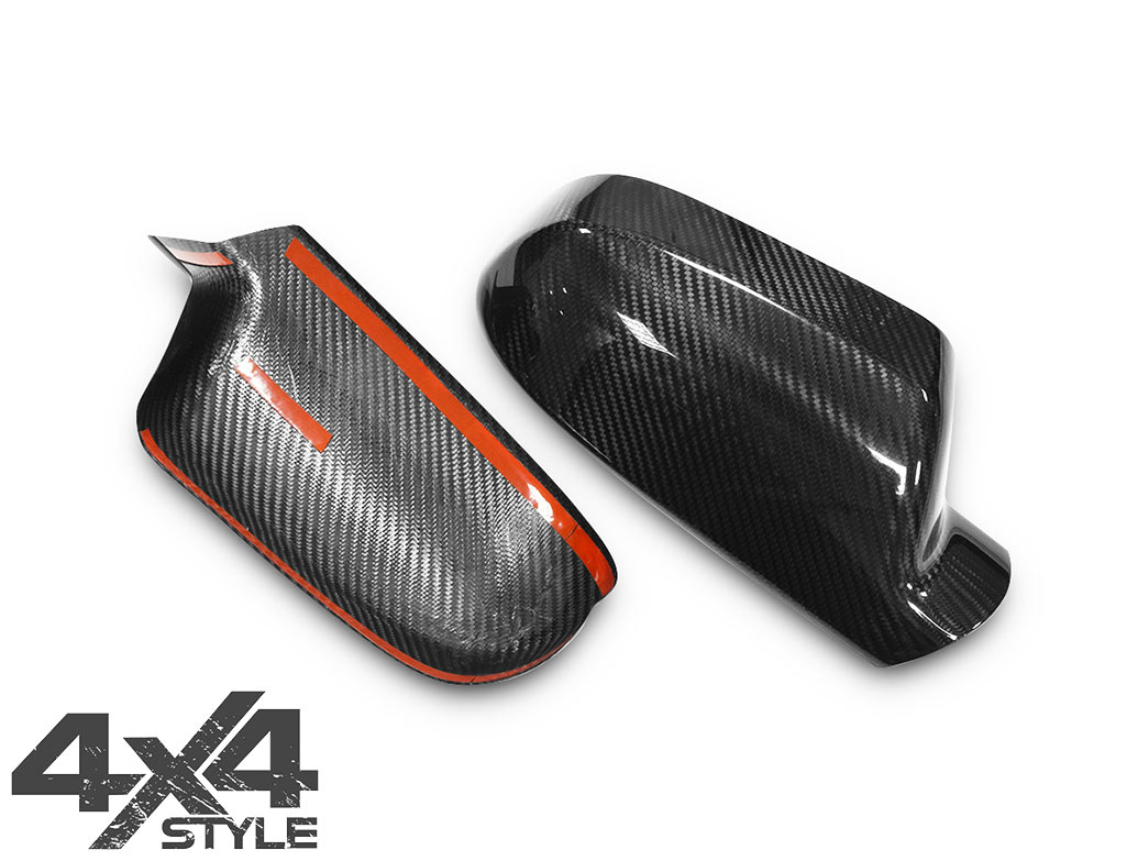 Genuine Carbon Fibre Mirror Covers - Audi A3/A4/A5