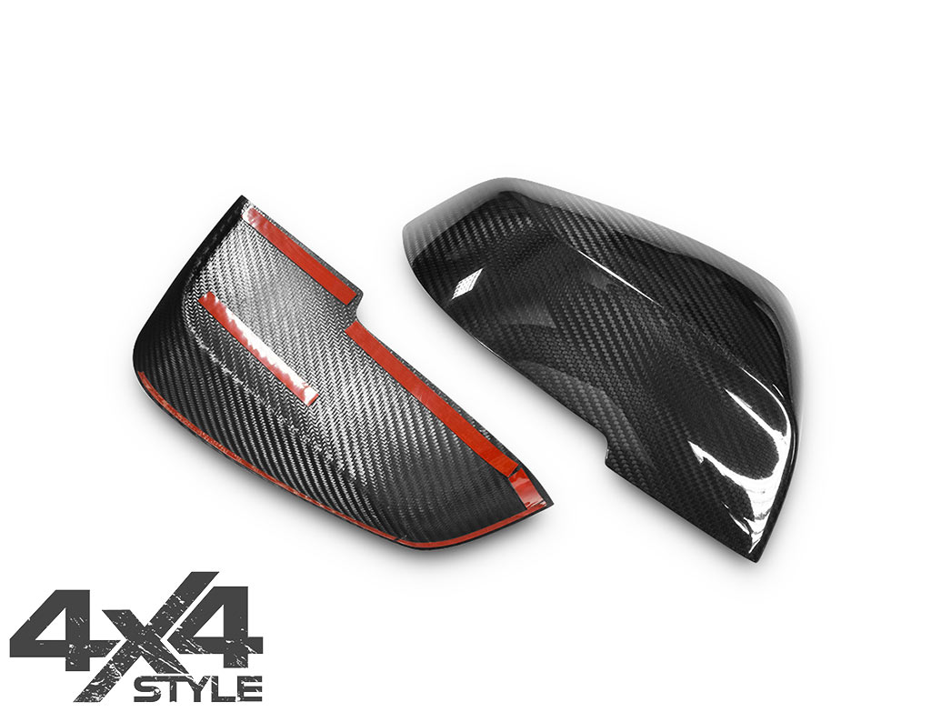 Genuine Carbon Fibre Mirror Covers - BMW 1/3/4 F20/30/32