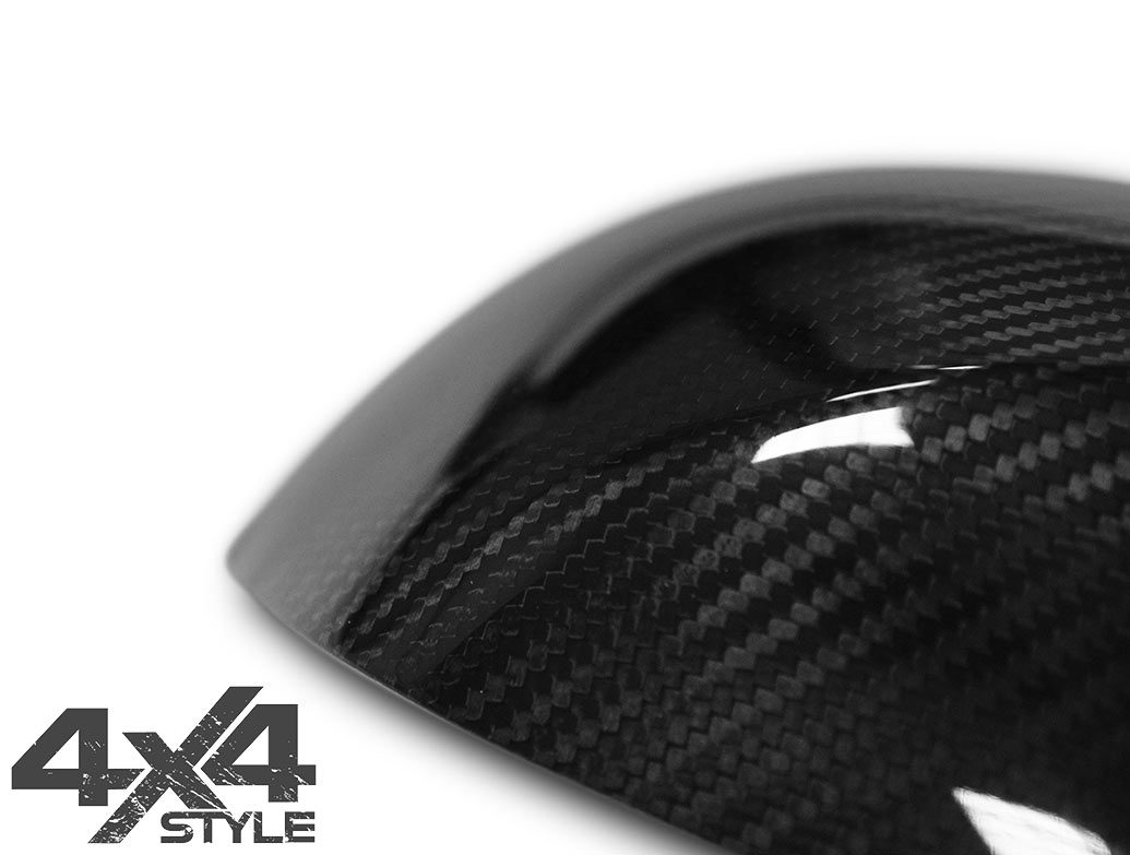 Genuine Carbon Fibre Mirror Covers - BMW 3 Series 05-08 E90/91