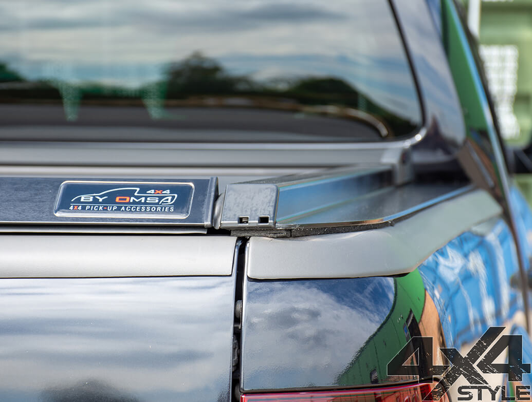 Black Roller Shutter Load Bed Protector Cover - VW Amarok 2010>