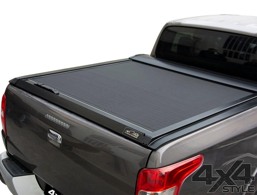 Black Roller Shutter Load Bed Protector - Mitsubishi L200 15>