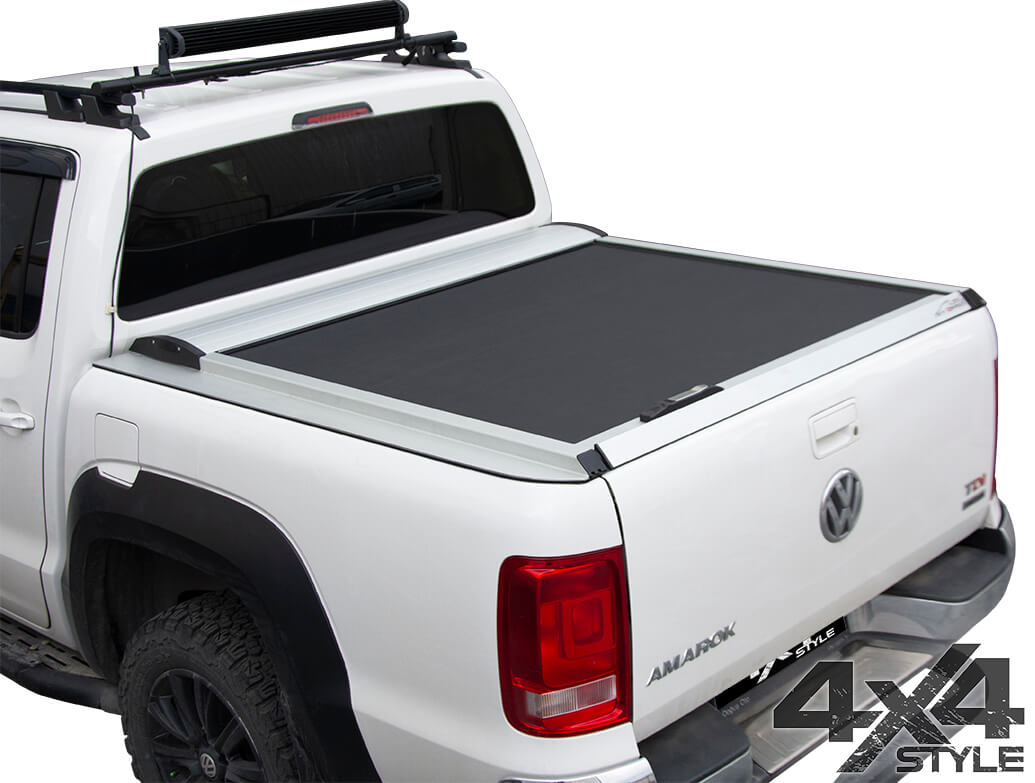 Silver Roller Shutter Load Bed Protector - Mitsubishi L200 15>